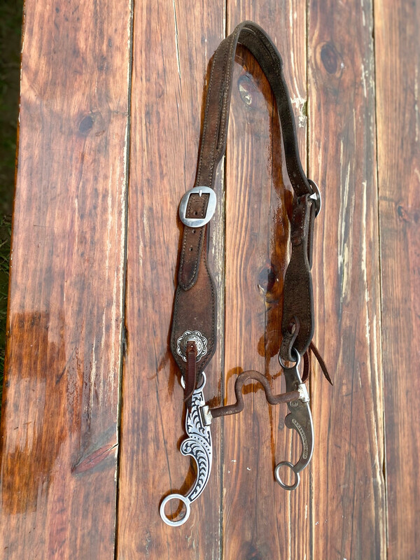 Used Headstall & Bit With JWP Hardware
