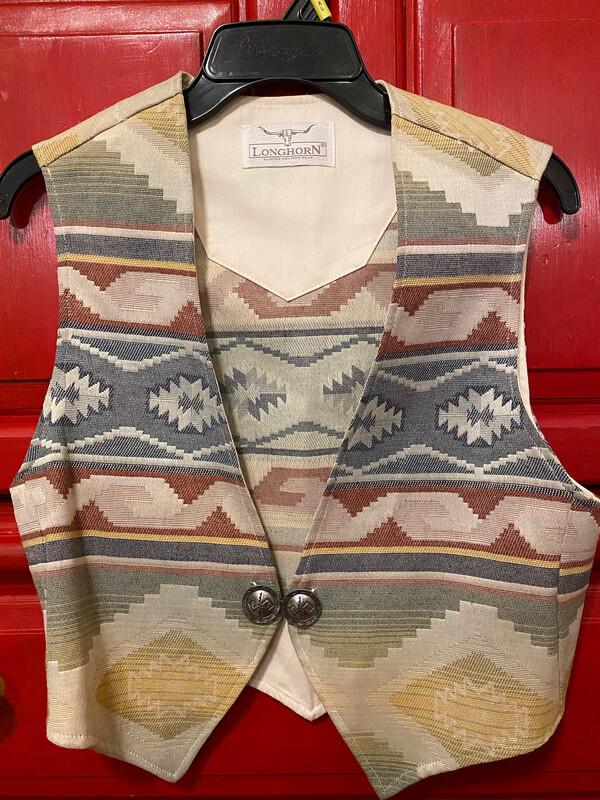Longhorn Ladies Vest Small/Medium