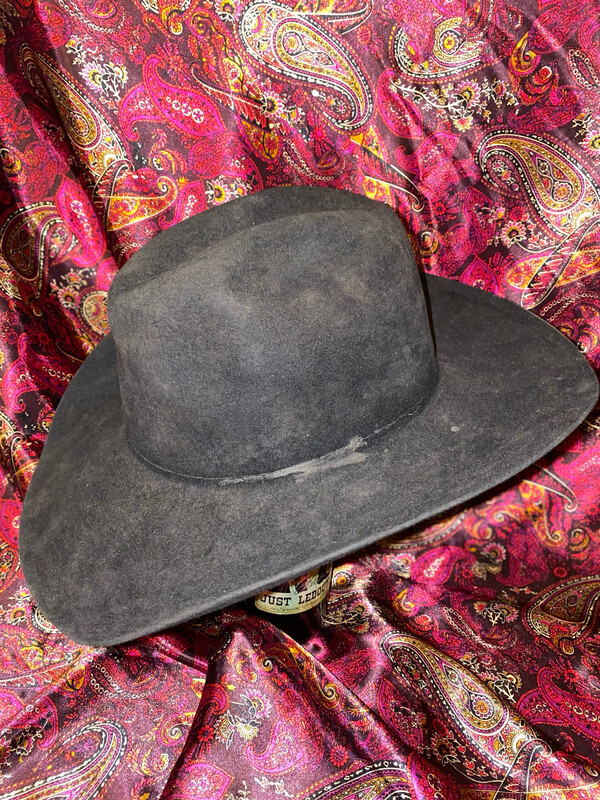 6 3/4 Stetson Hat Heavily Used