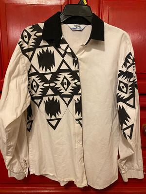 Medium Ladies Roper Shirt Used