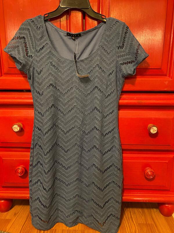 Blue Tiana B. Small Dress New w/ Tags