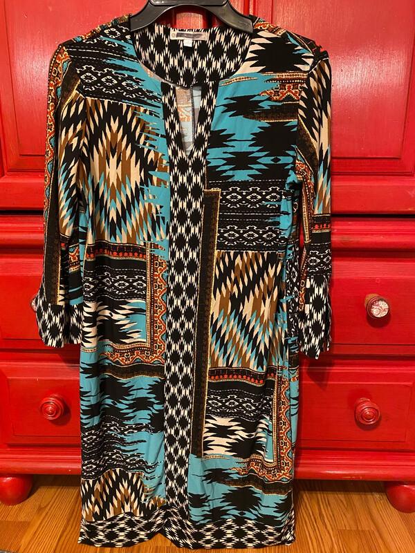 Printed Ladies Small Dress Used