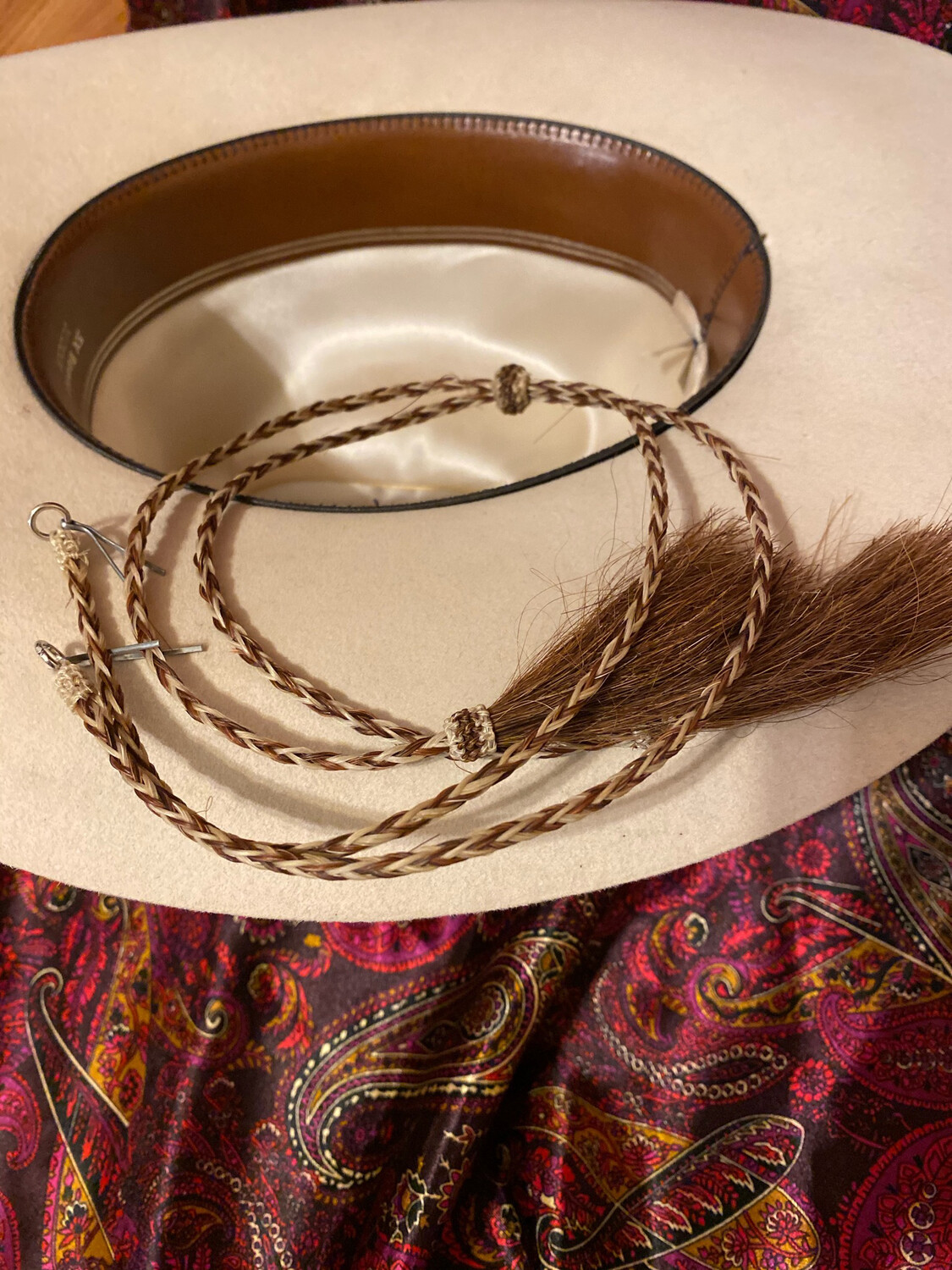Brown And White Stampede String