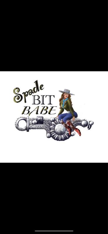 Large Spade Bit Babe Black Unisex Long Sleeve Tee