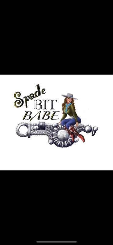 XXL Spade Bit Babe Black Unisex Long Sleeve Tee