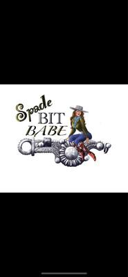 XXXL Spade Bit Babe Black Unisex Long Sleeve Tee