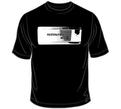 Restoration Sound T Shirt!