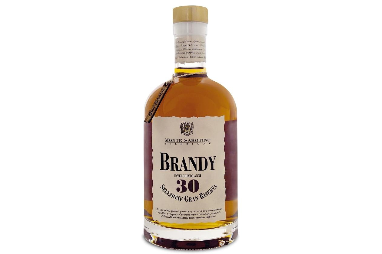Brandy straveccio 30 anni Monte Sabotino