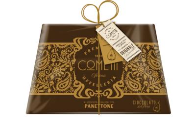 Panettone Cioccolata e Pera 750 g, Cometti