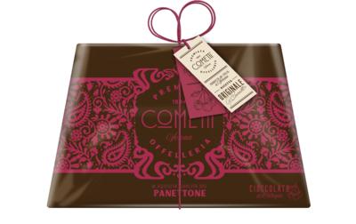 Panettone Cioccolata e Cilliegia 750 g, Cometti