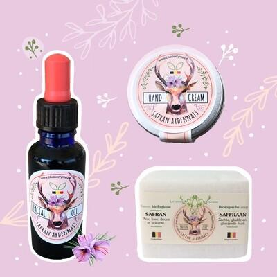 Botanical Skincare cadeaupakket  * Coffret cadeau Soin Naturel