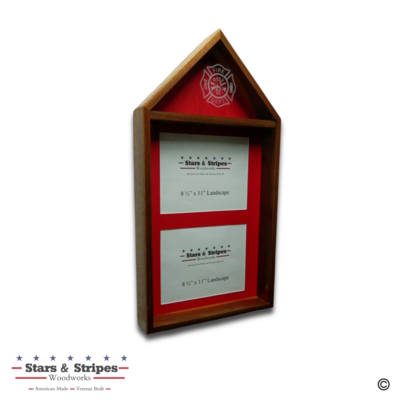3'x5' Flag & 2 Certificate Display Case