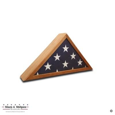 Cherry 3'x5' Flag Display Case