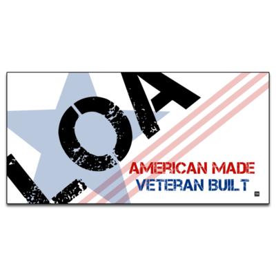 LOA Patriotic Sticker