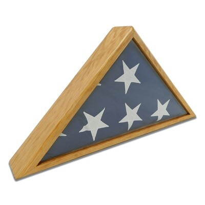 Cherry Burial Flag Display Case (5' x 9 1/2' Flag)