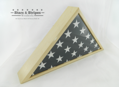 Maple Burial Flag Display Case (5' x 9 1/2' Flag)