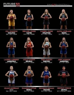 2021-2022 SWMO Basketball Future50 Photoshoot