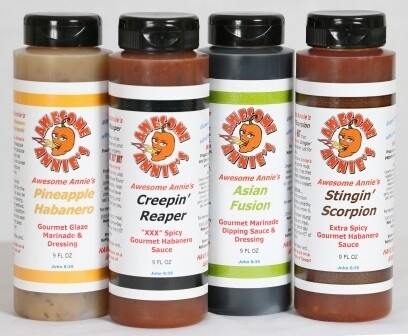 Awesome Annie's 9 oz Specialty Sauces