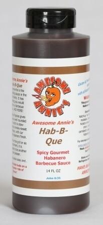 Awesome Annie's 14 oz Hab-B-Q