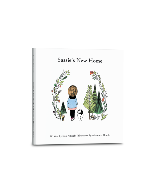 Sassie's New Home (Hard Cover Book)