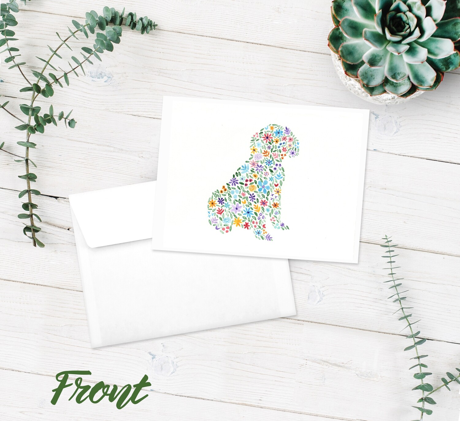 Dog Notecard - 10 Pack