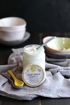 Yogurt bianco intero bio 200 g
