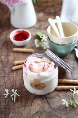 Gelato di Fattoria - Gusto Cheesecake ricotta e lamponi 480g Gusto premium!