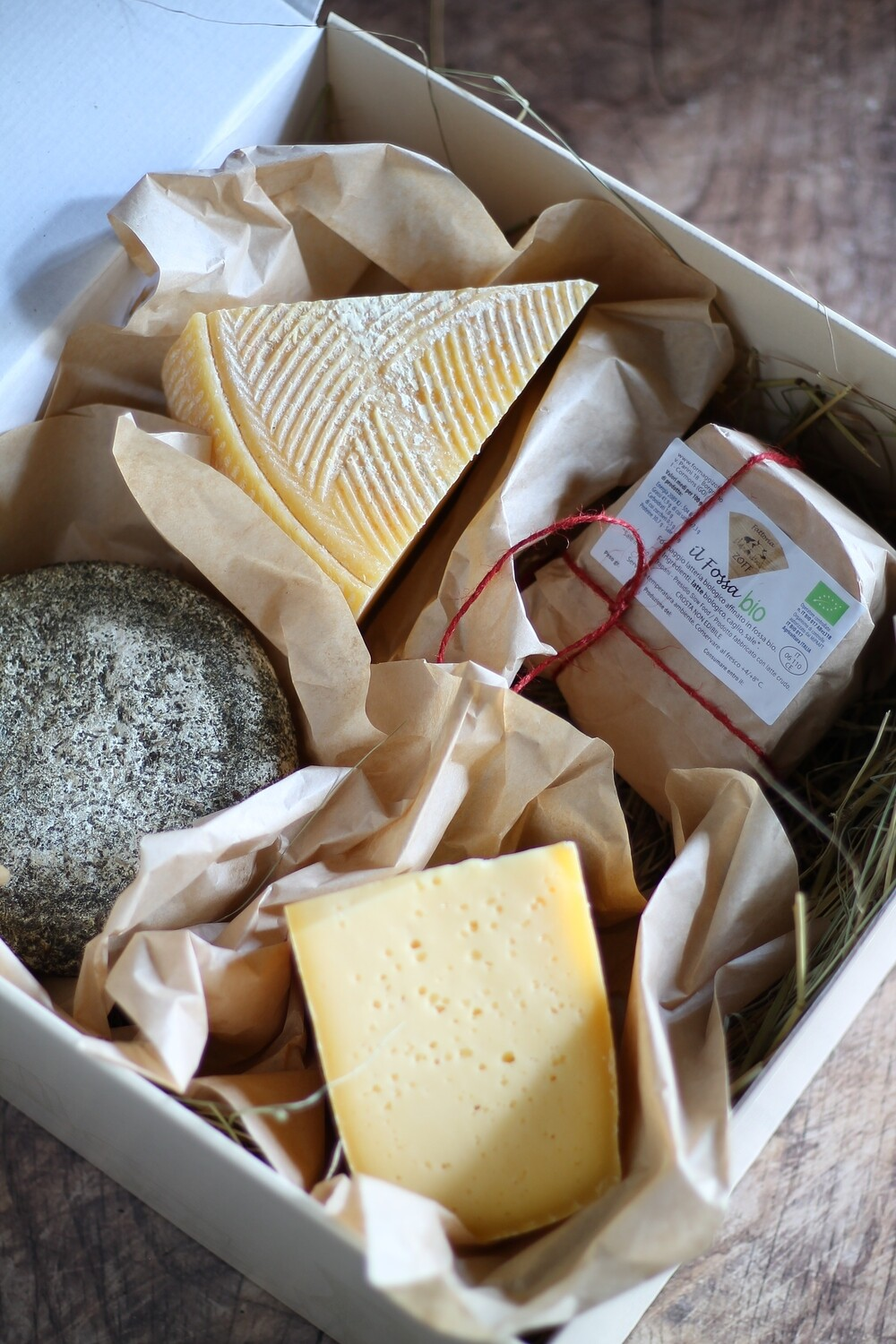 Cheese mistery box selection