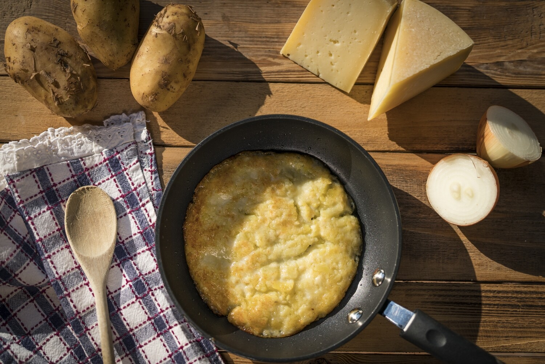 Frico di patate  e cipolla 180g