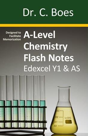 A-Level Chemistry Flash Notes Edexcel Year 1 & AS: Paperback
