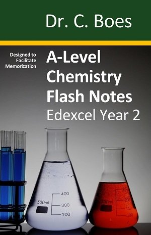 A-Level Chemistry Flash Notes Edexcel Year 2 - Paperback
