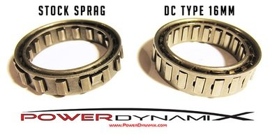PowerDynamix A650E Dual Cage Small Sprag Upgrade 16mm