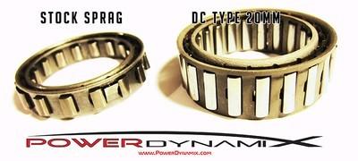 PowerDynamix A650E Dual Cage Large Sprag Upgrade 20mm