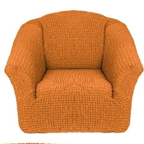 Чехол для кресла без оборки 2 шт.(охра)