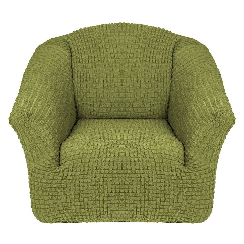 Чехол для кресла без оборки 2 шт. (фисташка)