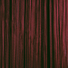 Нитяные шторы кисея (бордо)