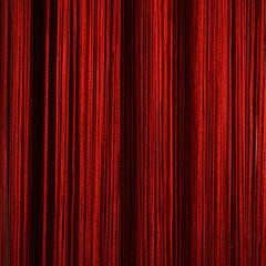 Нитяные шторы кисея (красный)