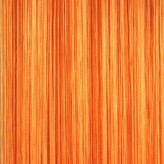 Нитяные шторы кисея (оранжевый)