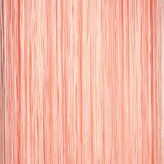 Нитяные шторы кисея (персиковый)