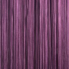 Нитяные шторы кисея (сливовый)