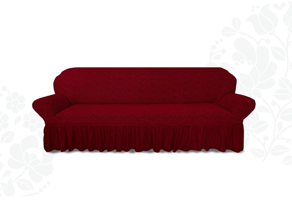 чехол на 4-х местный диван Жаккард