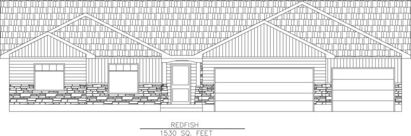 Redfish-1530 Sq. Feet
