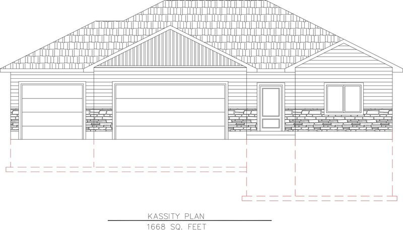 Kassity Plan-1668 Sq. Feet