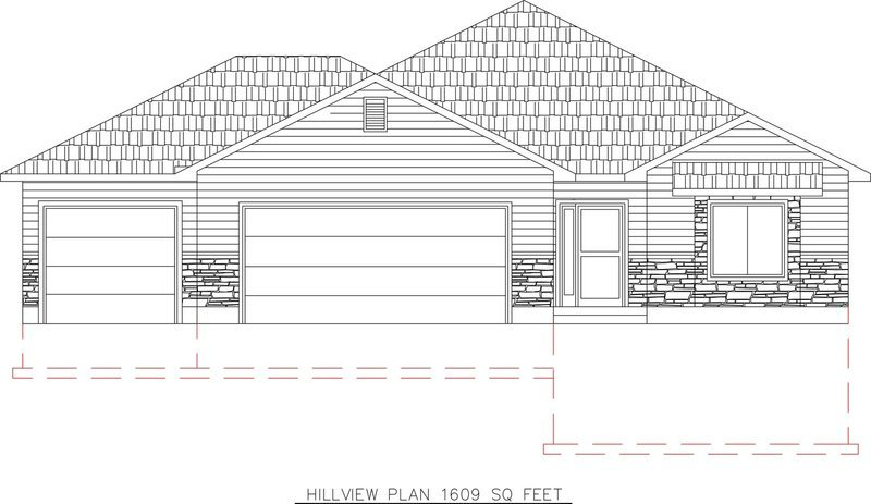 Hillview 1609 Sq. Feet