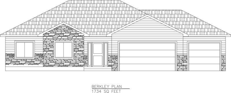 Berkley-1734 Sq. Feet