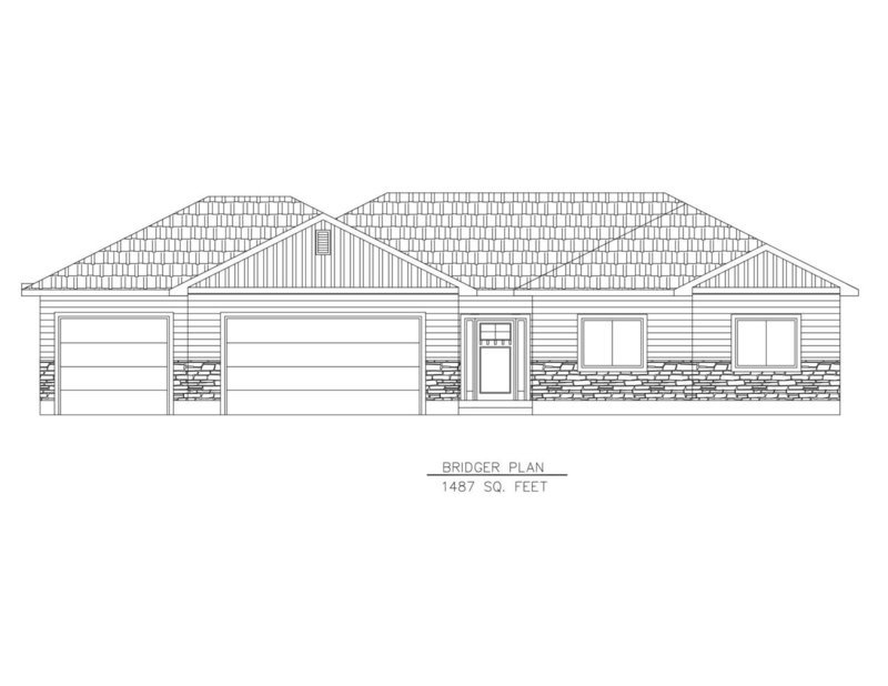 Bridger Plan-1487 Sq. Feet