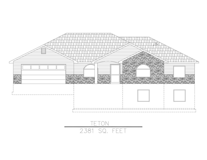 Teton-2381 Sq. Feet