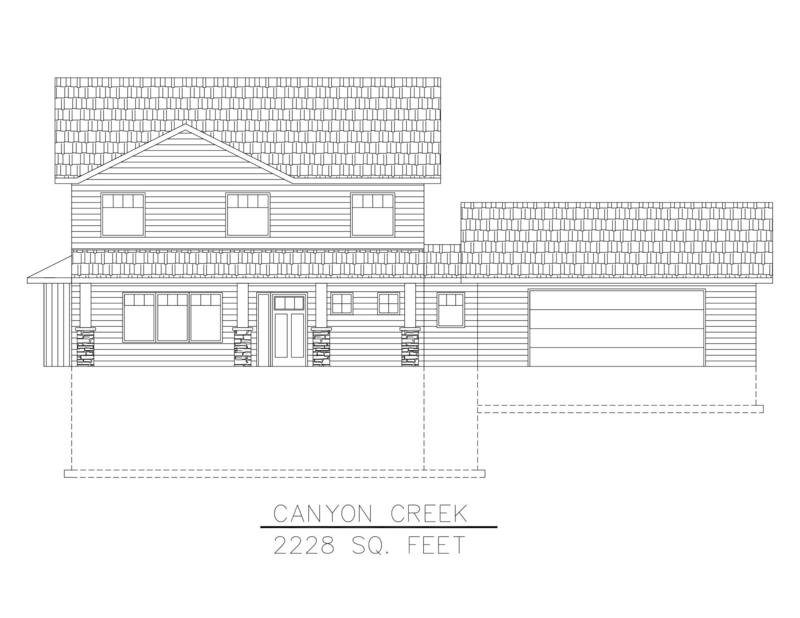 Canyon Creek 2228 Sq. Feet
