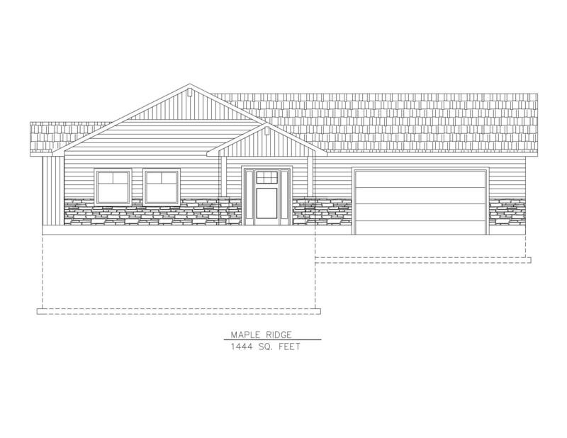 Maple Ridge 1444 Sq. Feet