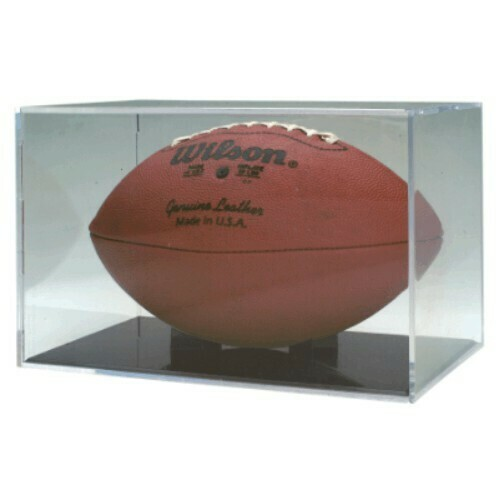 Clear Acrylic Football Holder